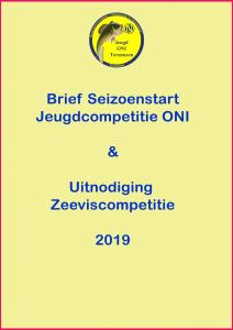 Seizoenstart Jeugdcompetitie 2019