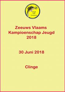 ZVL Kampioenschap Jeugd 2018