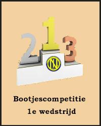 1e wedstrijd Bootjescompetitie