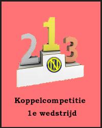 1e wedstrijd Koppelcompetitie