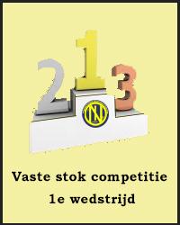 1e wedstrijd Vaste stok competitie