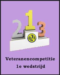 1e wedstrijd Veteranencompetitie