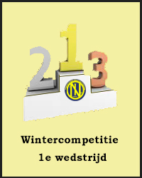 1e wedstrijd Wintercompetitie
