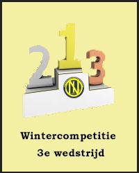 3e wedstrijd Wintercompetitie