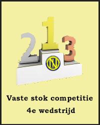 4e wedstrijd Vaste stok competitie