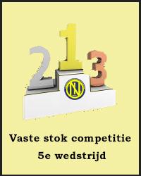 5e wedstrijd Vaste stok competitie
