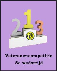 5e wedstrijd Veteranencompetitie