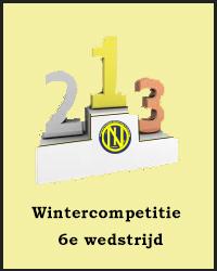6e wedstrijd Wintercompetitie