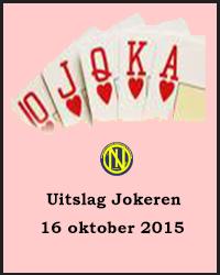 Jokeren 16 oktober 2015